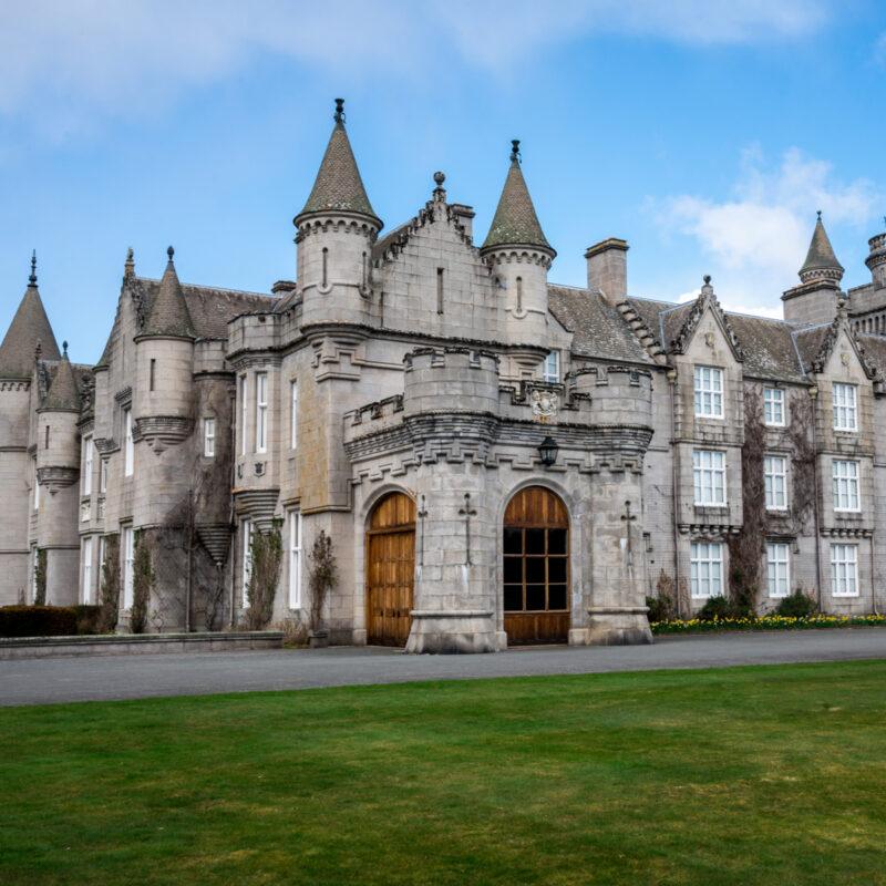 The Balmoral estate.