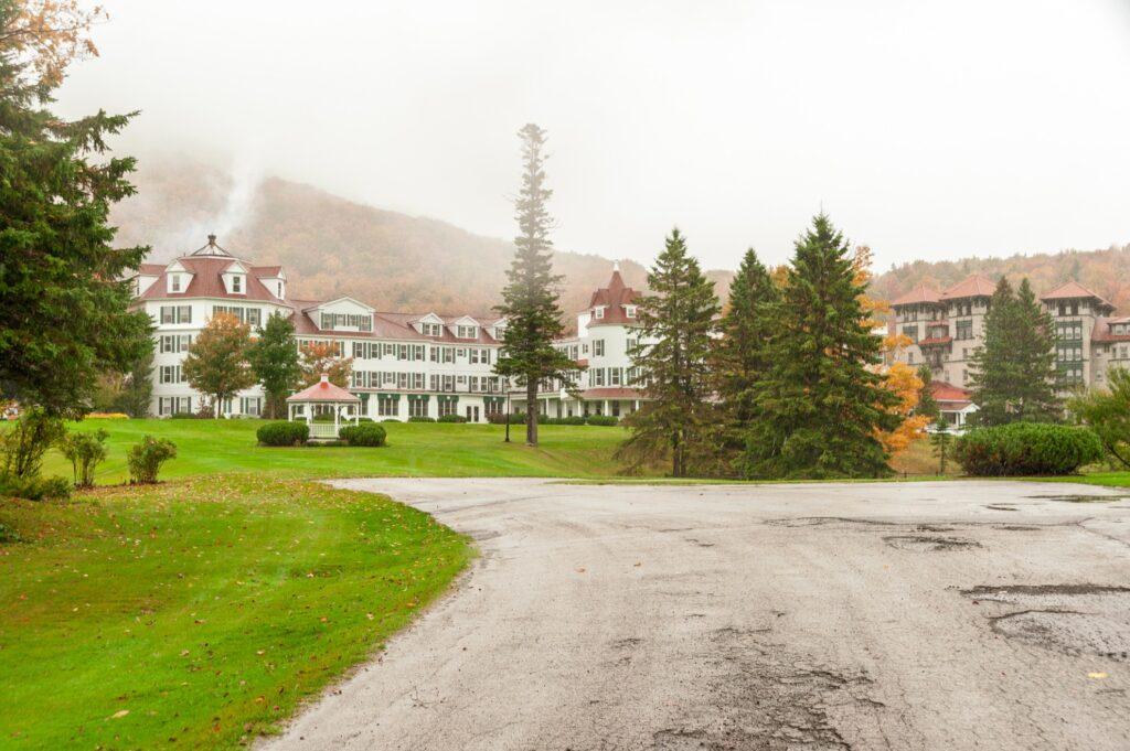 The Balsams Grand Resort Hotel.