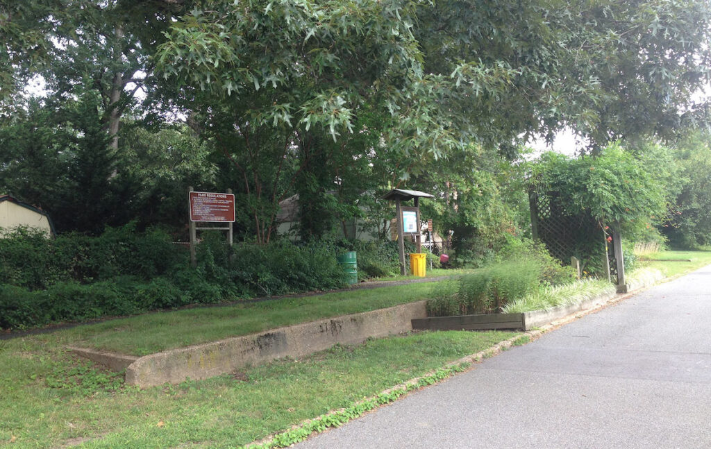 The Baltimore and Annapolis bike trail through Maryland.