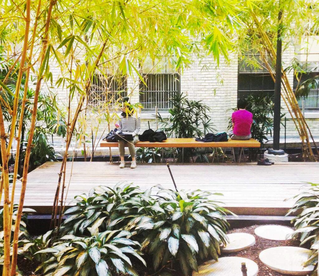 The Bamboo Garden in Toronto.