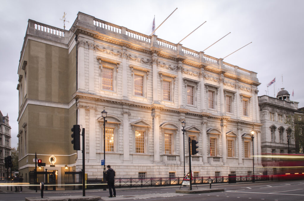 The Banqueting House in London.