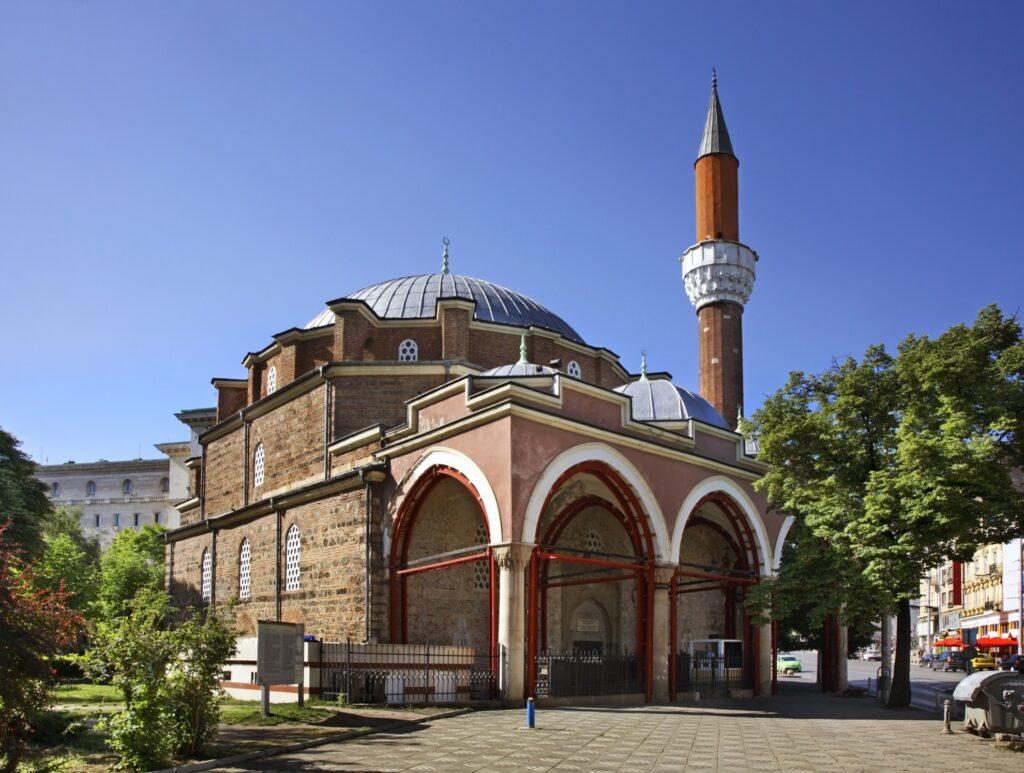 The Banya Bashi Mosque in Sofia.