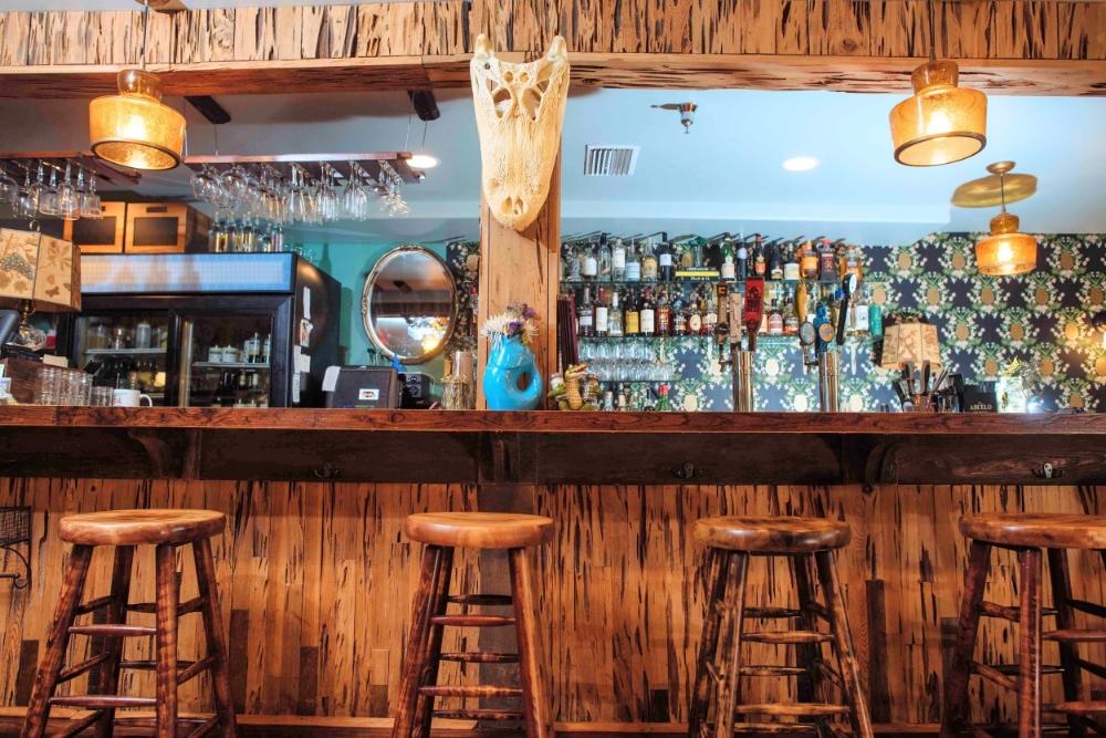 The bar at The Floridian.
