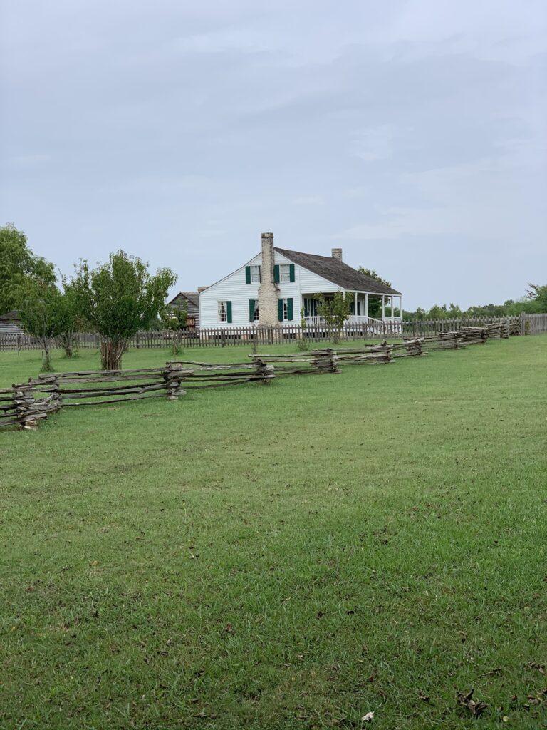 The Barrington Living History Farm near Brenham.