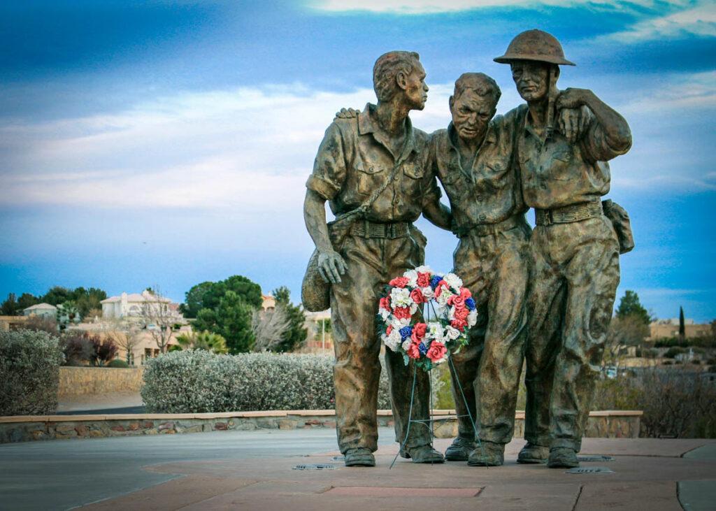 The Bataan Death March Memorial in Las Cruces.