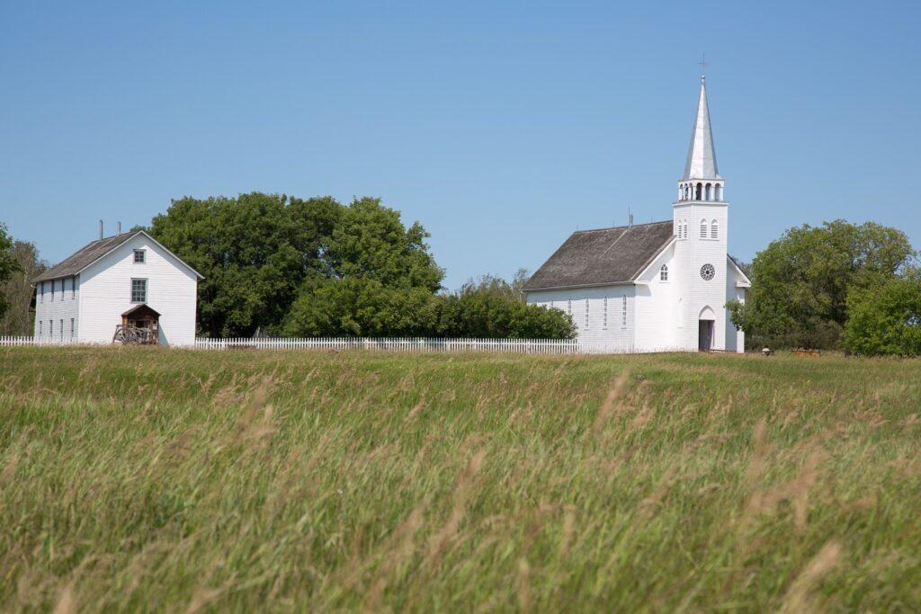 The Batoche Historic Site.
