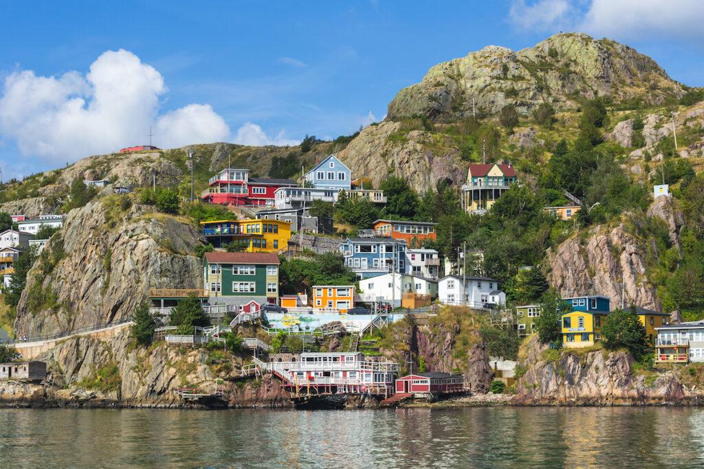 The Battery neighborhood of St. John's in Newfoundland, Canada.