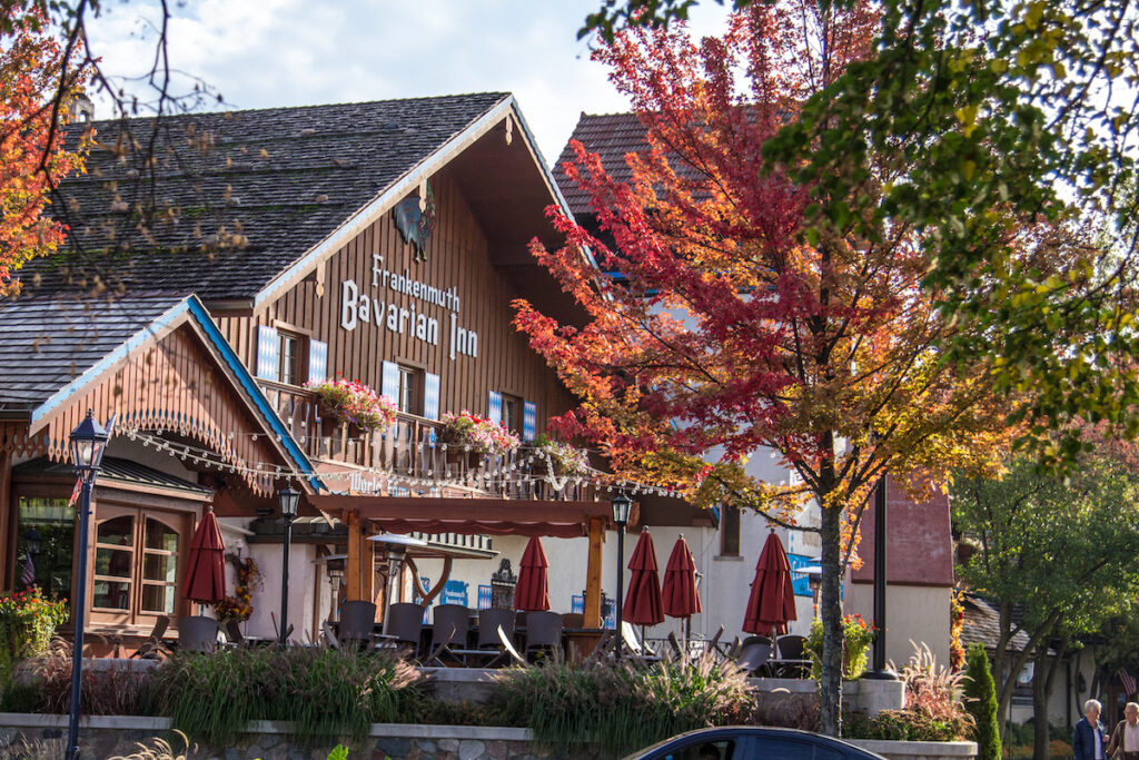 The Bavarian Inn in Frankenmuth, Michigan.