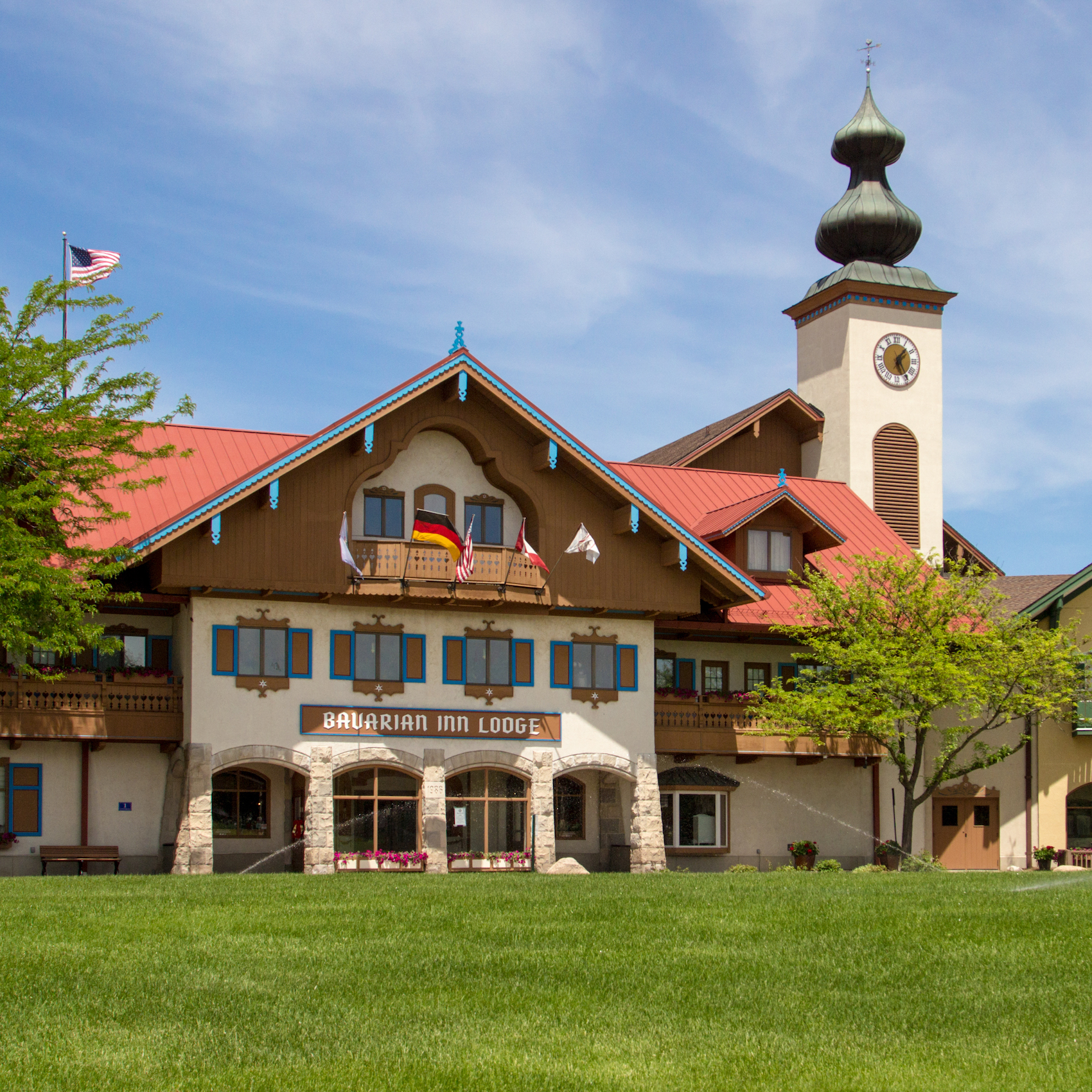 The Bavarian Inn Lodge in Frankenmuth, Michigan.