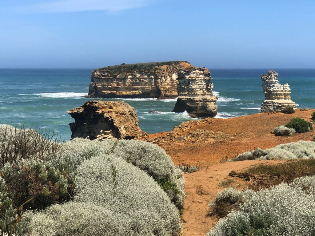 The Bay Of Islands along the Great Ocean Road.