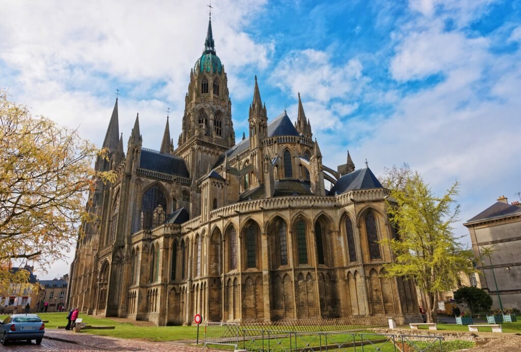 The Bayeux Cathedral in France.