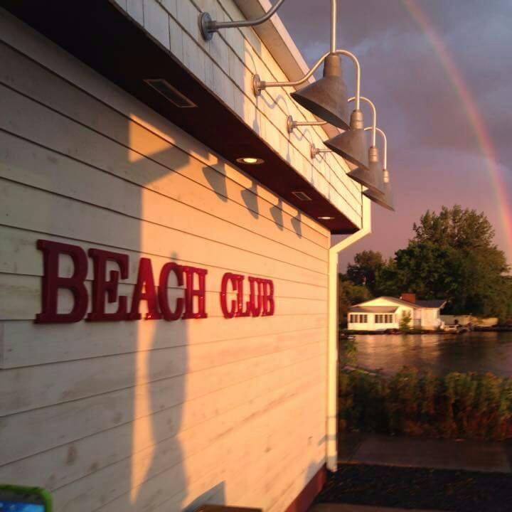 The Beach Club on Madeline Island.