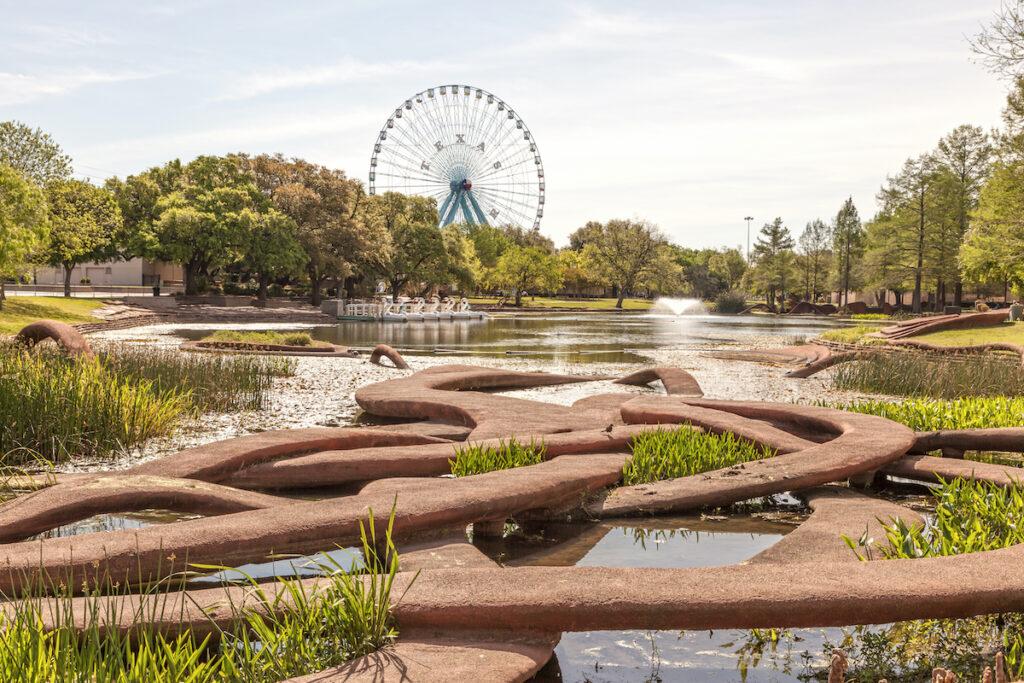 The beautiful Fair Park in Dallas, Texas.