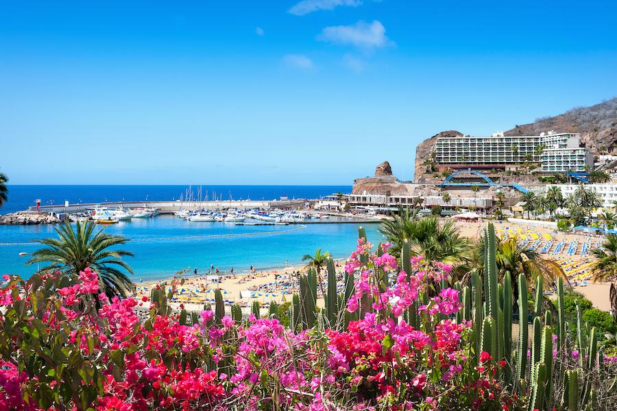 The beautiful Gran Canaria island in Spain.
