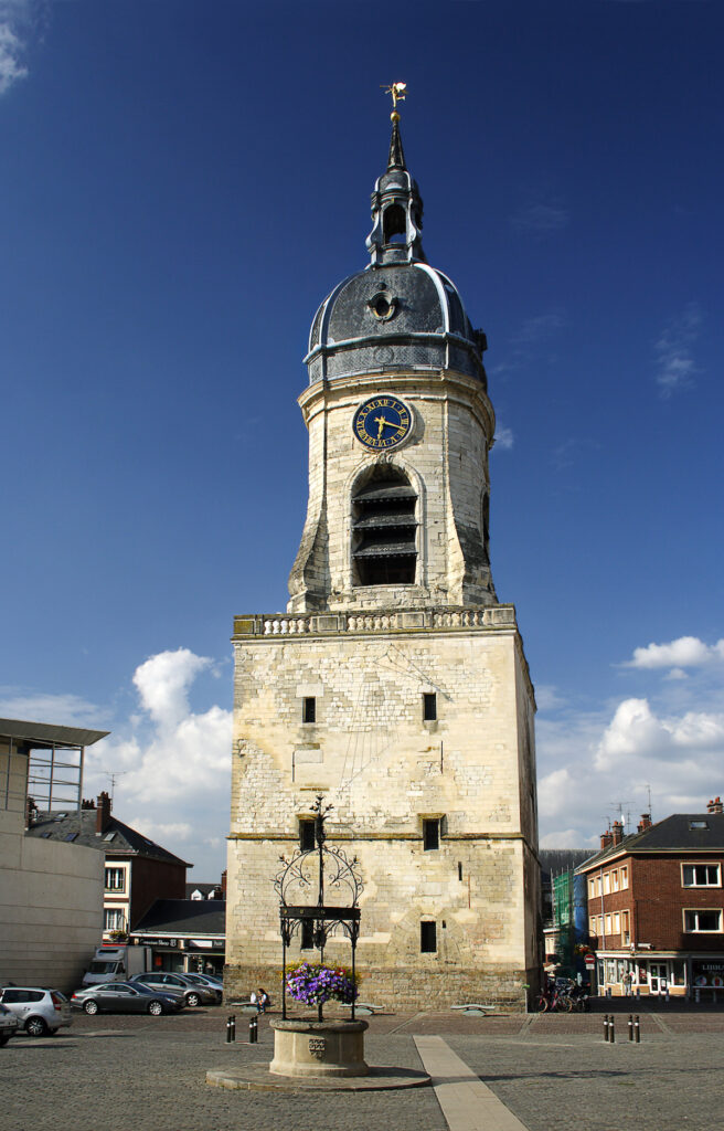 The Belfry of Amiens in France.