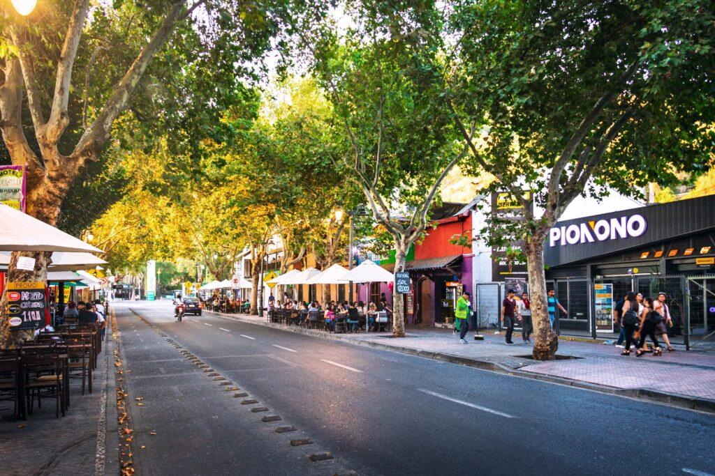 The Bellavista neighborhood.