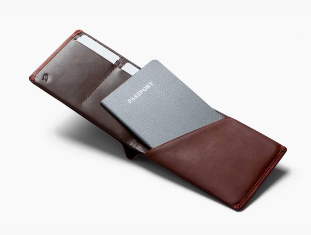 The Bellroy Leather Travel Wallet RFID.