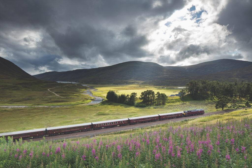 The Belmond Royal Scotsman in Scotland.