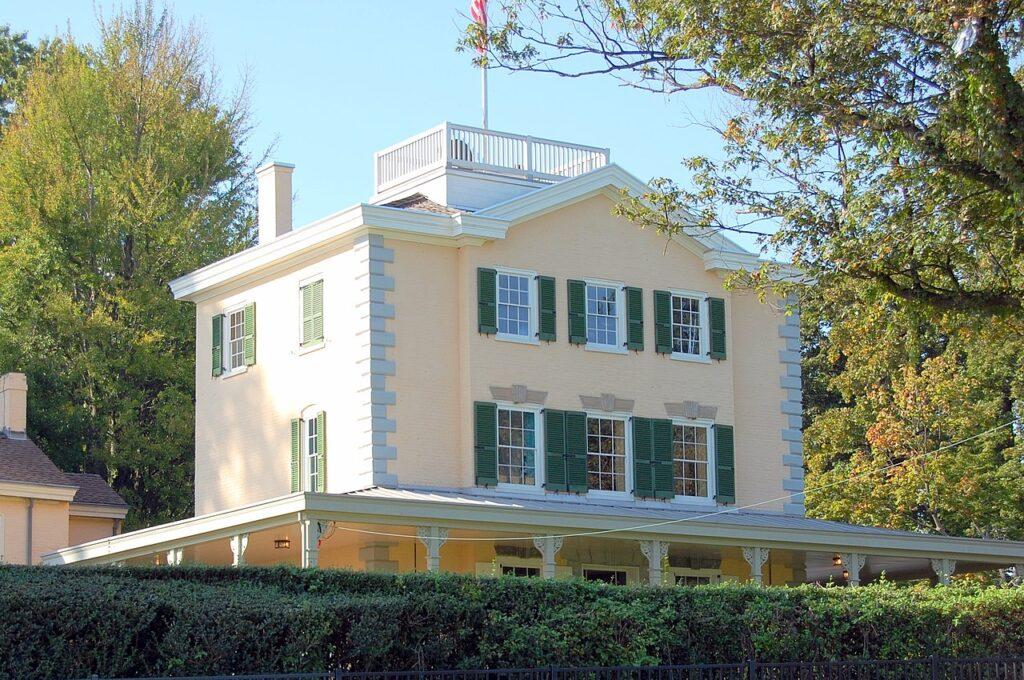 The Belmont Mansion in Philadelphia, Pennsylvania.