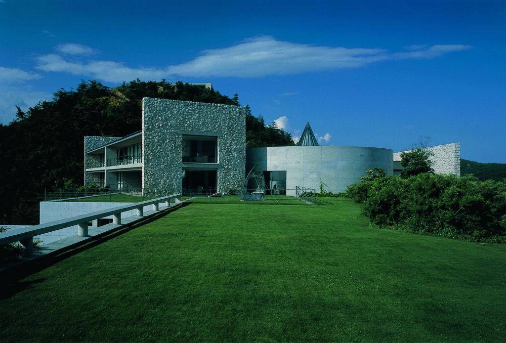 The Benesse House on Naoshima island.