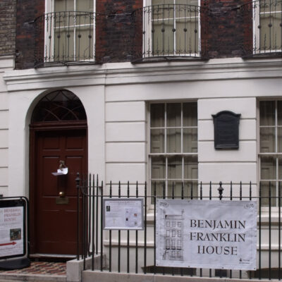 The Benjamin Franklin House in London, England.