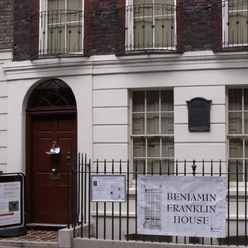 The Benjamin Franklin House in London, England.
