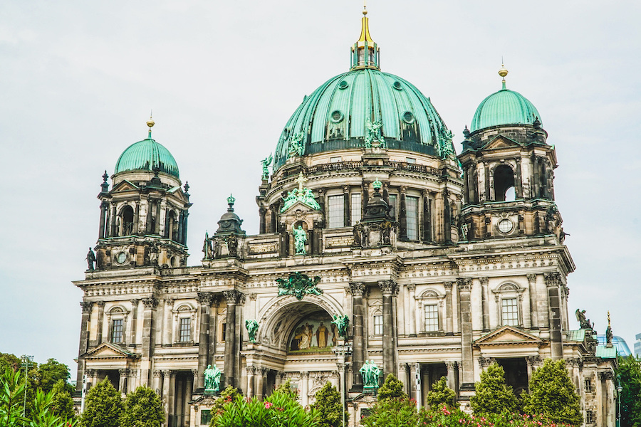 The Berlin Cathedral in Germany.