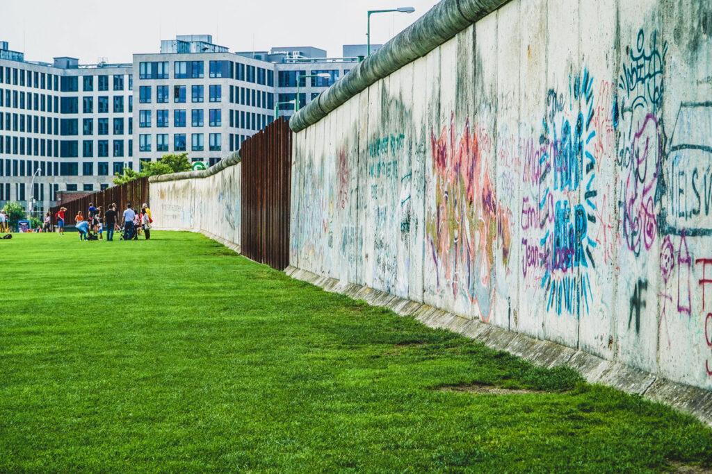 The Berlin Wall Memorial in Berlin, Germany.