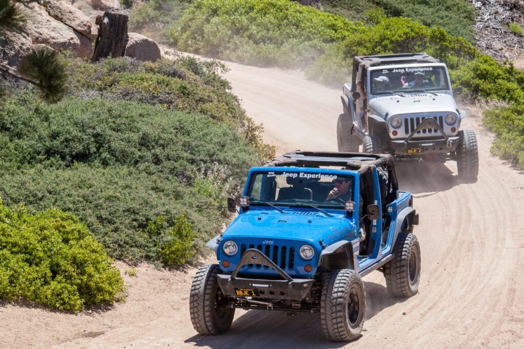 The Big Bear Jeep Experience tour.