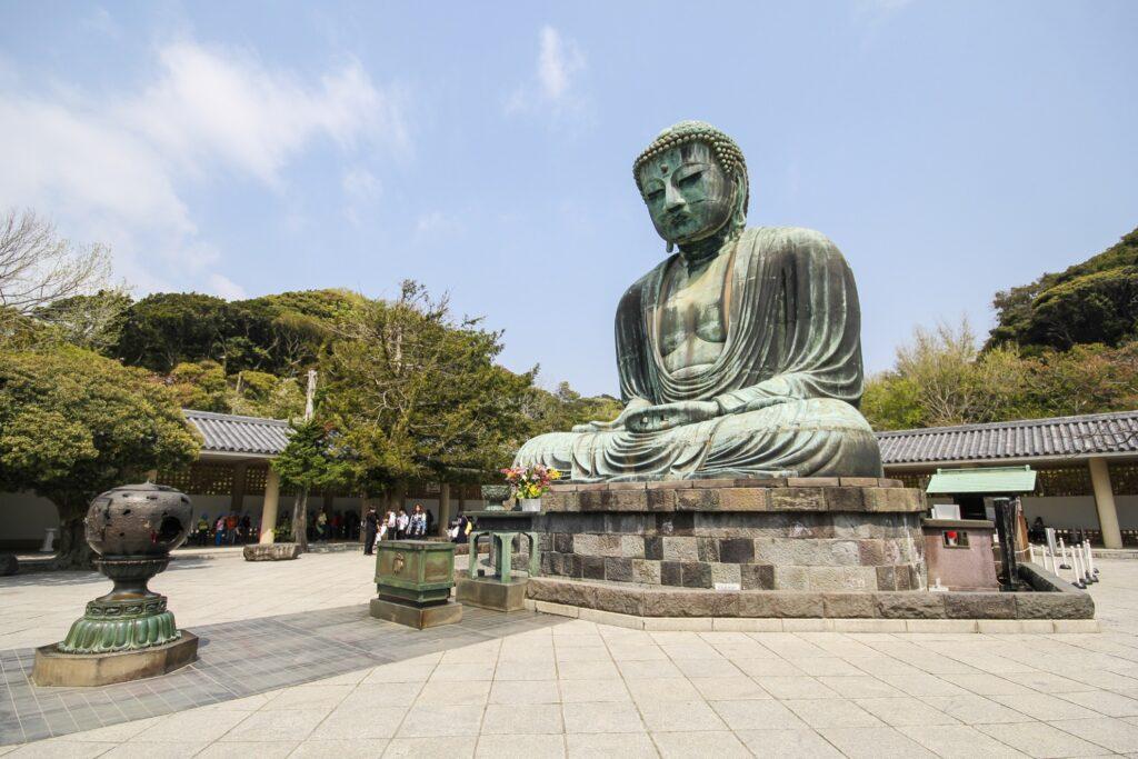The big Buddha in Kamakura, Japan.