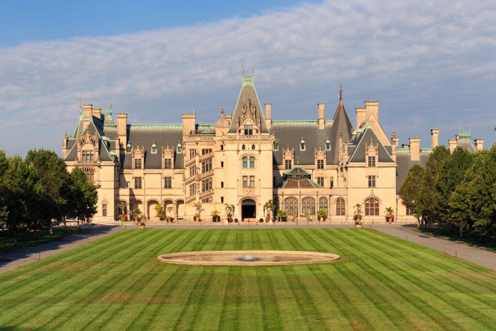 The Biltmore estate in North Carolina.
