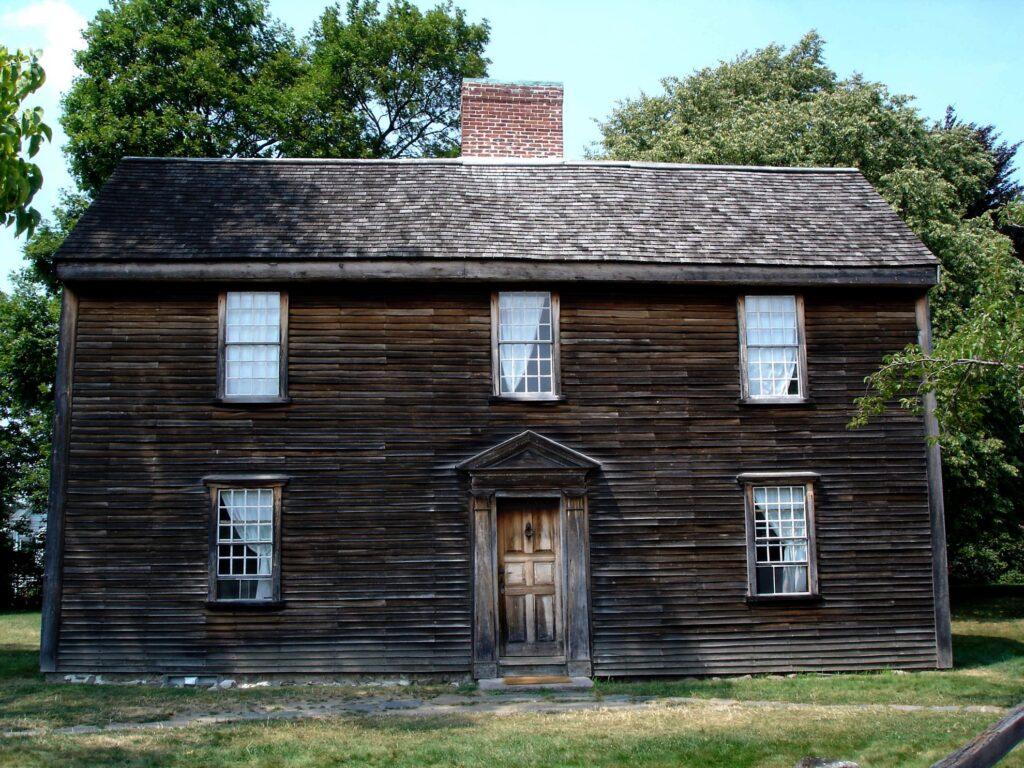 The birthplace of President John Adams.