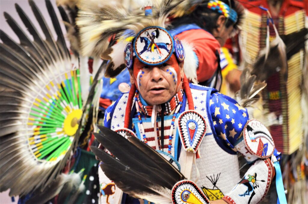 The Black Hills Pow Wow in Rapid City.