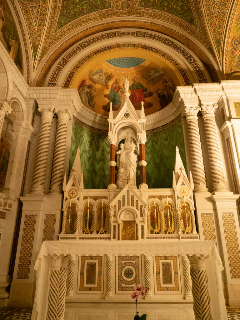 The Blessed Virgin's Chapel at the Cathedral Basilica of St. Louis.