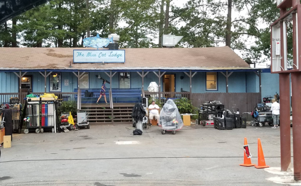 The Blue Cat Lodge in Woodstock.