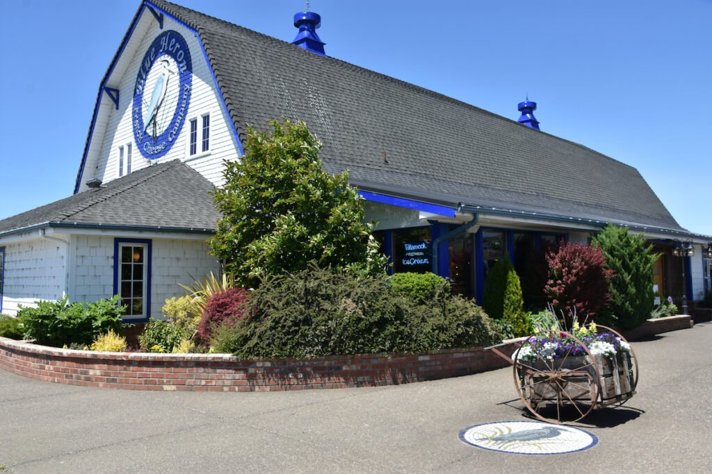 The Blue Heron French Cheese Company in Tillamook.