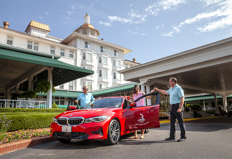 The BMW Guest Drive program at Pinehurst.