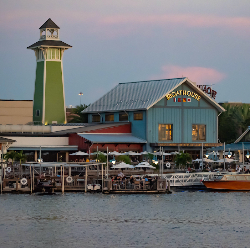 The Boathouse at Disney Springs.