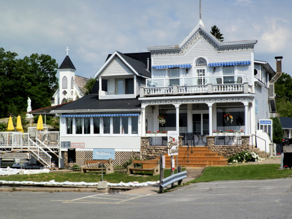The Boathouse Country Inn Restaurant in the Thousand Islands.