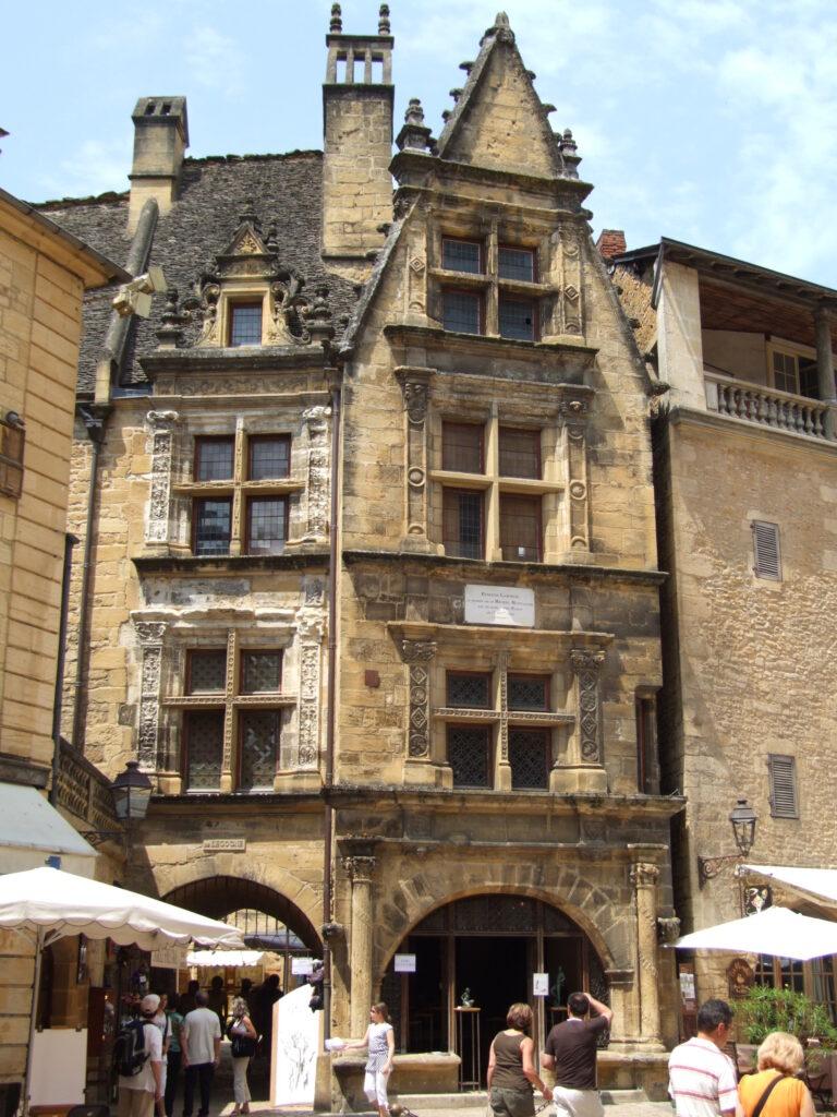 The Boetie Mansion in Sarlat-la-Caneda, France.