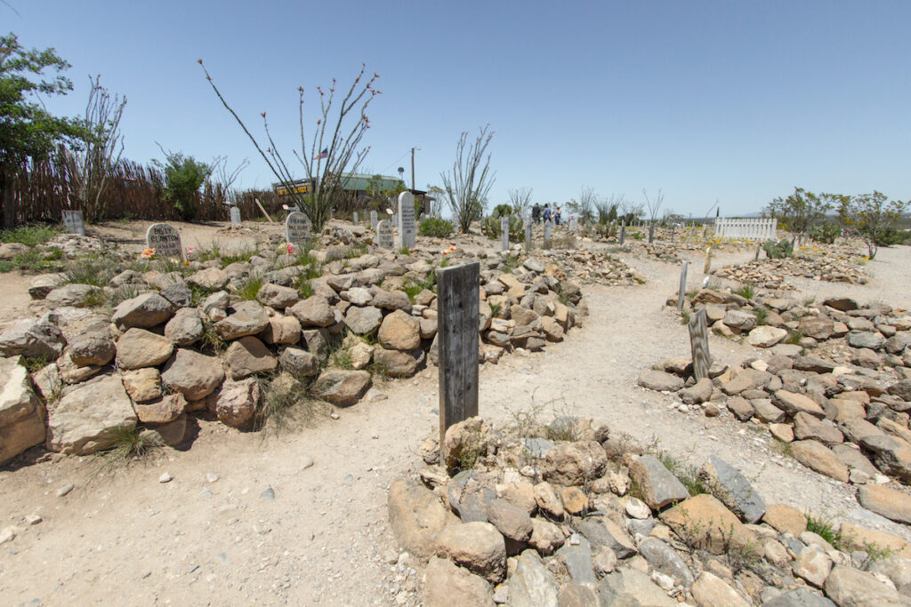 The Boothill Graveyard in Tombstone, Arizona.