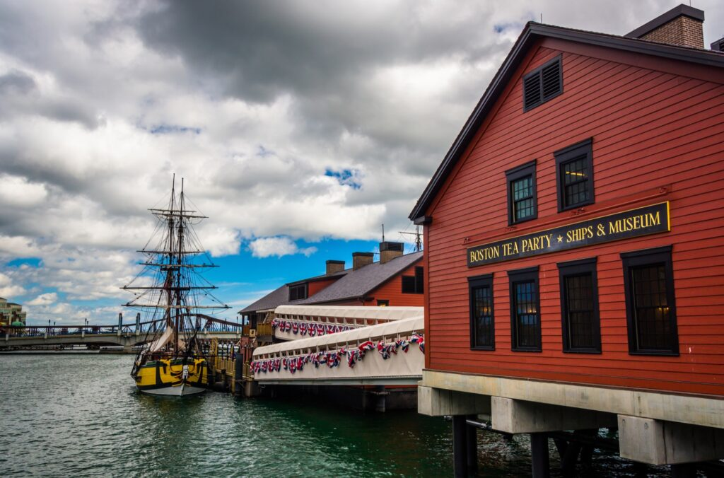 The Boston Tea Party Ships and Museum.