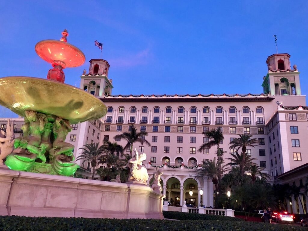The Breakers in Palm Beach, Florida.