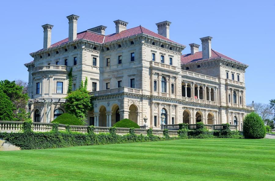 The Breakers mansion in Newport, Rhode Island.