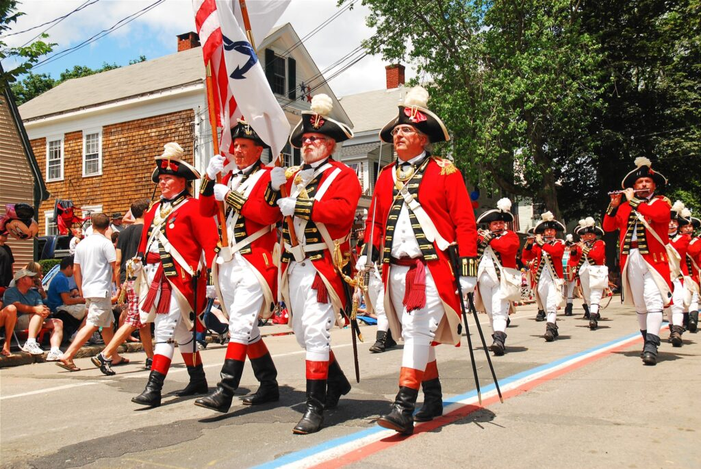 The Bristol Fourth of July Parade in Rhode Island