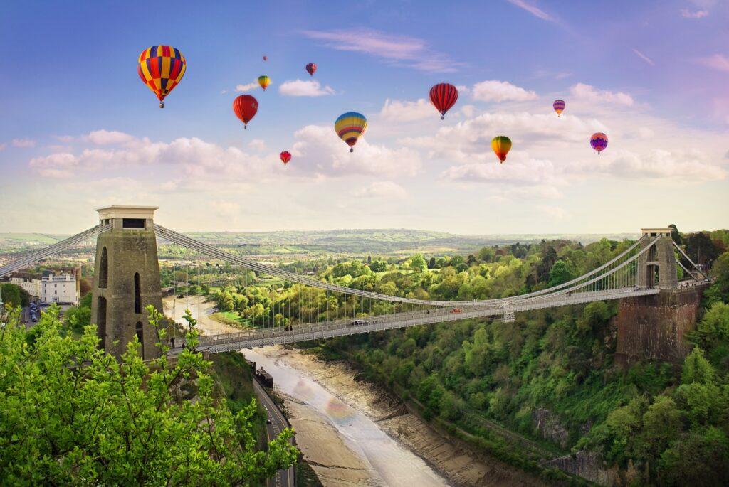 The Bristol International Balloon Fiesta.