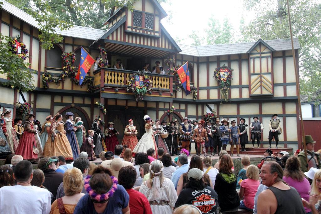The Bristol Renaissance Faire in Kenosha, Wisconsin.