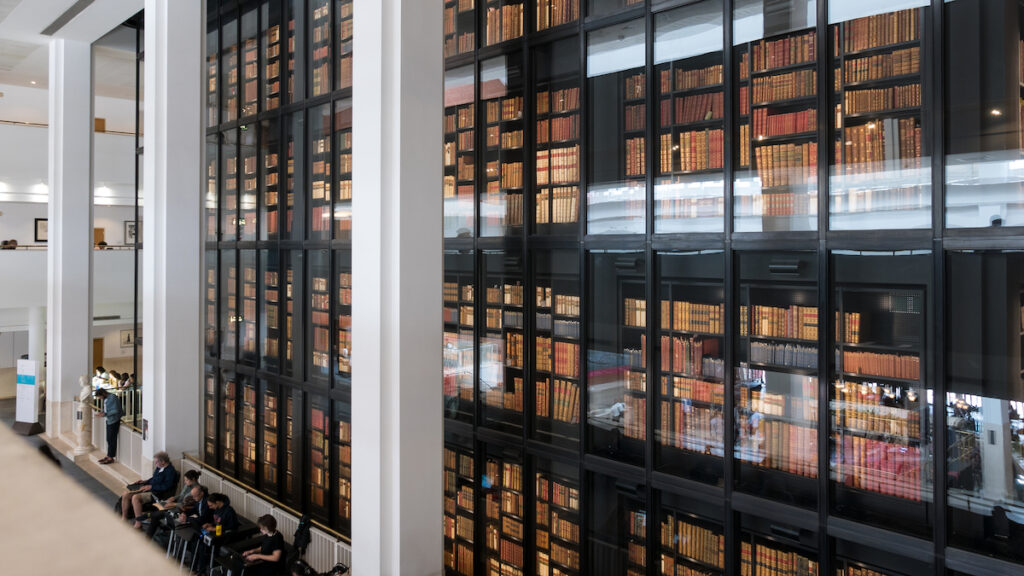 The British Library in London.