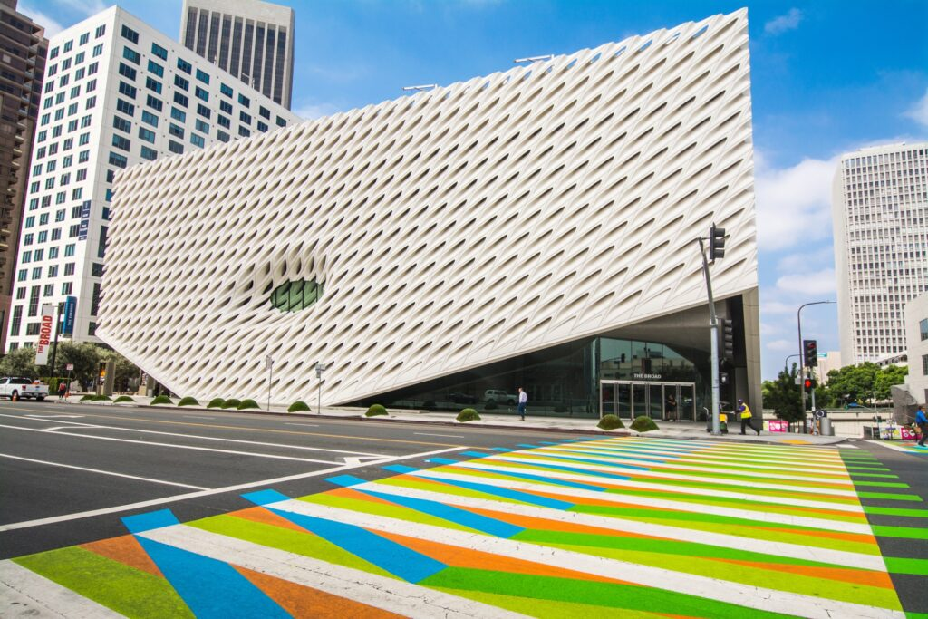 The Broad in downtown Los Angeles.