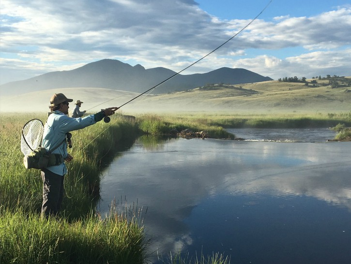 The Broadmoor in Colorado is one of the top fly fishing destinations for couples